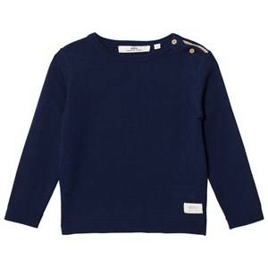 eBBe Kids Boys Commission Jumpers and knitwear Blue Sune Knitted Sweater Deep Navy