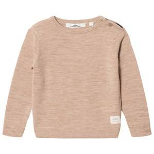 eBBe Kids Boys Commission Jumpers and knitwear Beige Sune Knitted Sweater Warm Sand
