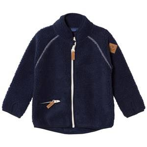 eBBe Kids Boys Commission Fleeces Blue Twister Terry Fleece Jacket Winter Navy