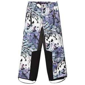 Molo Girls Bottoms Purple Jump Pro Woven Pants Fine Feather
