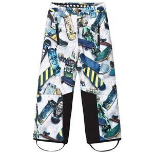 Molo Boys Bottoms Grey Jump Pro Woven Pants Skater