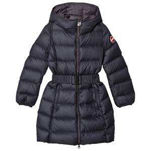 colmar Girls Coats and jackets Navy Navy Empire Long Down Coat with Hood and Belt