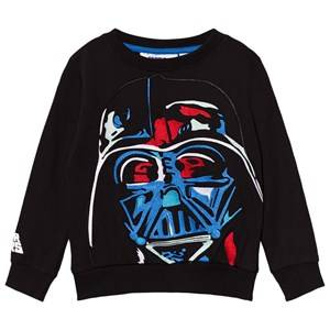 Fabric Flavours Boys Jumpers and knitwear Black Black Darth Vader Applique Sweatshirt