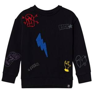 Molo Boys Jumpers and knitwear Black Marin Sweatshirt Black