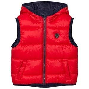 Mayoral Boys Coats and jackets Navy Navy/Red Reversible Padded Vest