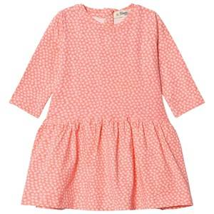 The Bonnie Mob Girls Dresses Pink Flared Dress Hash Tag Sorbet