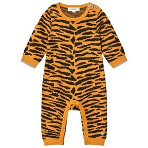 The Bonnie Mob Unisex All in ones Orange Tiger Stripe One-Piece Honey