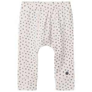 The Bonnie Mob Unisex Bottoms Cream Bunny Print Baby Leggings Sand