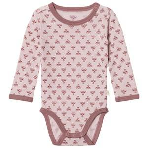 hummelkids Unisex All in ones Purple Molde Wool Baby Body Burnished Lilac