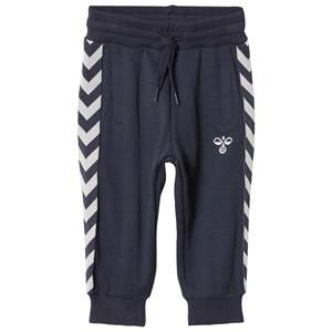 hummelkids Unisex Bottoms Blue Altevann Pants Blue Nights