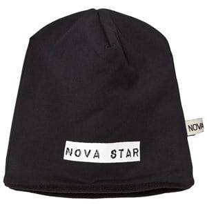 Nova Star Unisex Headwear Black Beanie Fleece Lined Night Black