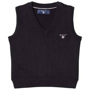 Gant Boys Jumpers and knitwear Navy Navy V Neck Knit Vest