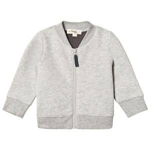 The Bonnie Mob Unisex Jumpers and knitwear Grey Cross Stitch Tiger Bomber Jacket Grey