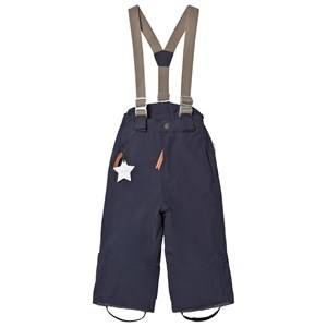Mini A Ture Unisex Bottoms Navy Witte K Pants Blue Nights