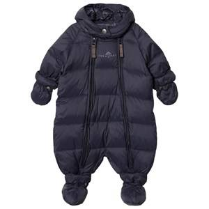 Ver de Terre Unisex Coveralls Navy Featherlight Baby Wintersuit Navy