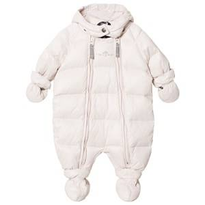 Ver de Terre Unisex Coveralls Pink Featherlight Baby Wintersuit Rose Powder