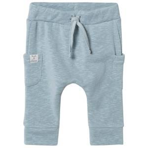 Hust&Claire; Unisex Bottoms Blue Sweatpants Petrol