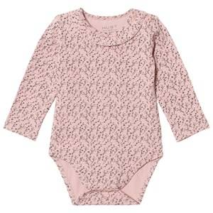 Hust&Claire; Girls All in ones Pink Baby Body Dusty Rose
