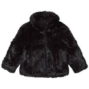 The BRAND Unisex Private Label Coats and jackets Black Faux Fur Jacket Black