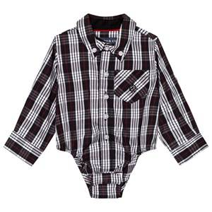 Andy & Evan Boys Tops Navy Black/White Holiday Shirtzie