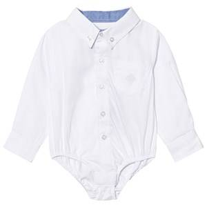 Andy & Evan Boys Tops White White Oxford Button Down Shirtzie