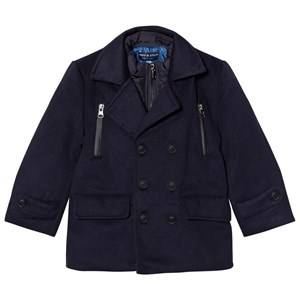 Andy & Evan Boys Coats and jackets Navy Navy Peacoat