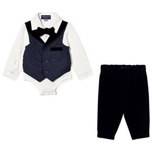 Andy & Evan Boys Clothing sets Navy Navy Playsuit