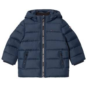 Tommy Hilfiger Boys Coats and jackets Navy Navy Down Hooded Jacket