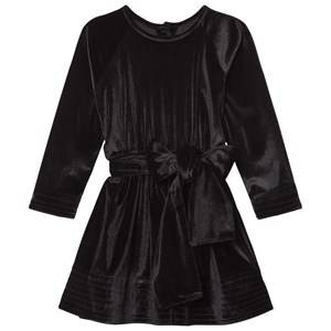 Kiss How To Kiss A Frog Girls Dresses Black Adele Dress Velvet Black