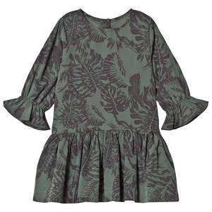 Kiss How To Kiss A Frog Girls Dresses Green Margot Dress Leaf