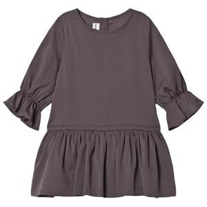 Kiss How To Kiss A Frog Girls Dresses Grey Margot Dress Dark Grey