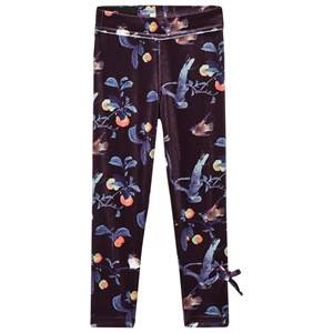 Kiss How To Kiss A Frog Girls Bottoms Black Slim Leggings Velvet Bloom