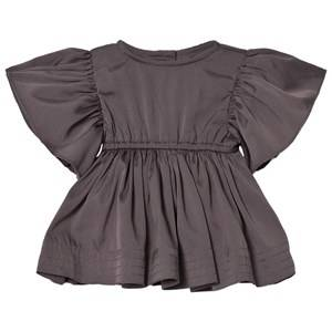 Kiss How To Kiss A Frog Girls Dresses Grey Tanya Dress Dark Grey