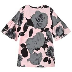 Kiss How To Kiss A Frog Girls Dresses Pink Trine Dress Green Rose