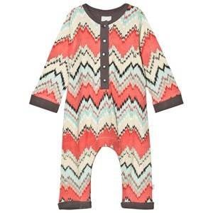 The Little Tailor Boys All in ones Multi Multi ZigZag Baby One-Piece
