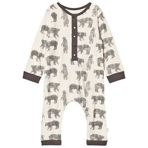 The Little Tailor Boys All in ones Cream Cream Bear Baby One-Piece