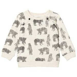 The Little Tailor Boys Jumpers and knitwear Cream Cream Bear Baby Sweater
