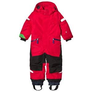 Didriksons Unisex Coveralls Red Ale Kids Coverall Red