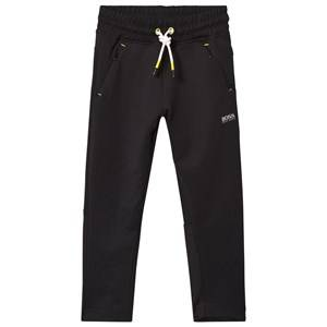 Boss Boys Bottoms Black Black Technical Track Pants