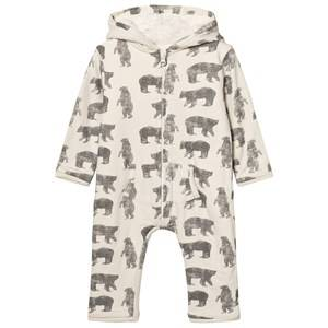 The Little Tailor Boys All in ones Cream Cream Bear Baby Onesie