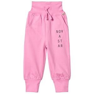 Nova Star Unisex Bottoms Pink Cosy Trousers Pink Classic