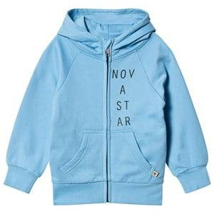 Nova Star Unisex Jumpers and knitwear Blue Hood Sweatshirt Light Blue