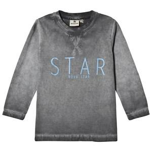 Nova Star Unisex Tops Grey T Star Grey Long Sleeve