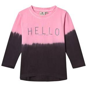 Nova Star Unisex Tops Pink Hello Long Sleeve Top