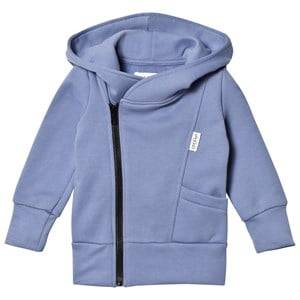 Gugguu Unisex Jumpers and knitwear Blue College Hoodie Ice Blue/Black