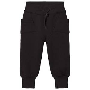 Gugguu Unisex Bottoms Black College Baggy Pants Black