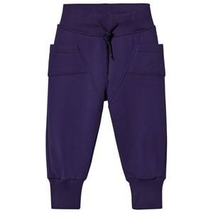 Gugguu Unisex Bottoms Blue College Baggy Pants Astral Aura