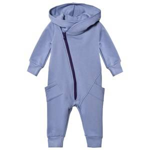 Gugguu Unisex All in ones Blue College Jumpsuit Ice Blue/Astral Aura
