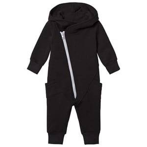 Gugguu Unisex All in ones Black College Jumpsuit Black/Dabble Grey