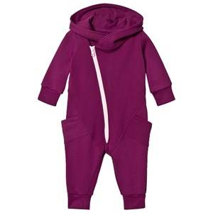 Gugguu Unisex All in ones Red College Onesie Grape Juice/Fragrant Lilac